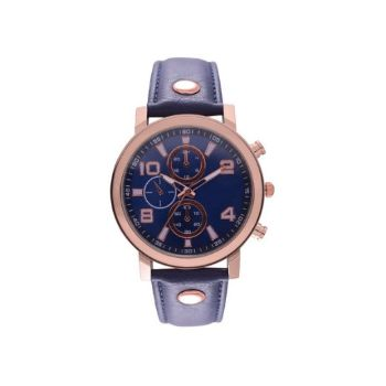 Blue Rose Watch - Blue+Rosegold